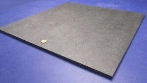 "1.5/"" x 12/"" x 48/"" Black Color ABS Plastic Sheet Machine Grade"