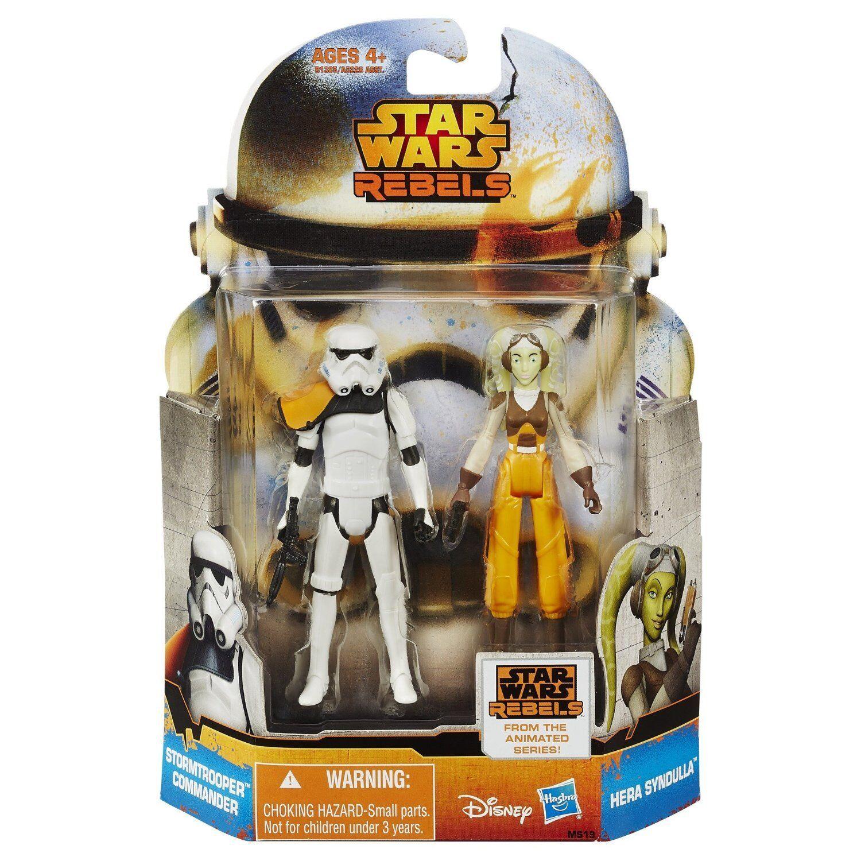 Star - wars - rebellen mission serie hera syndulla & stormtrooper commander ms19