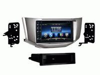 Dash Kit Oe Fitment & Finish In Dash Radio Bluetooth Navigation For Lexus Rx330