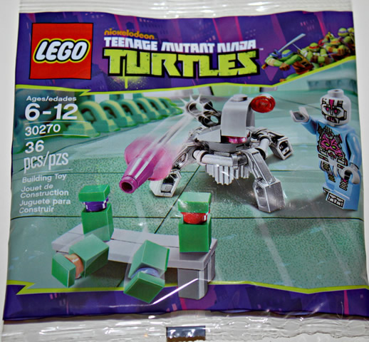 NEW LEGO Teenage Mutant Ninja Turtles Kraang Laser Turret  30270 10 POLYBAGS