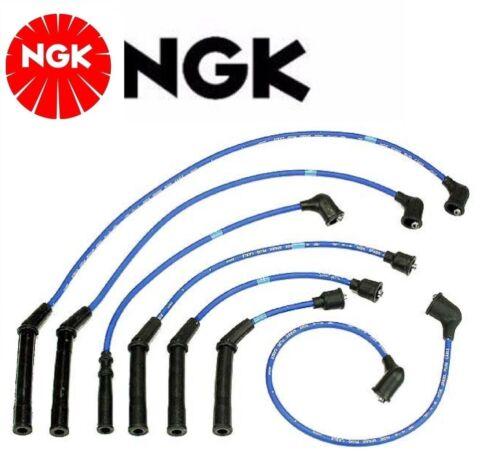 NGK Spark Plug Ignition Wire Set For Nissan Maxima V6; 3.0L 1985-1986 1988