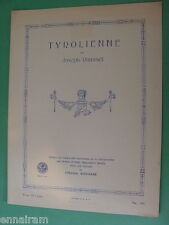 Tyrolienne 1916 Joseph Rummel Art Publication Society #344