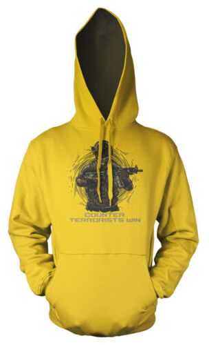 Counter Strike CSGO Gaming Counter Terrorists Win Adult Hoodie
