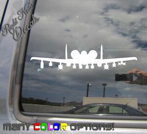 A10-Warthog-Plane-Car-Auto-Window-High-Quality-Vinyl-Decal-Sticker-10078
