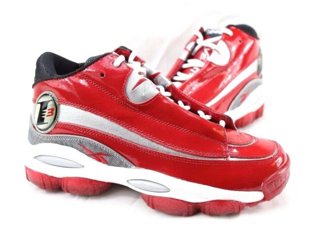 95803cf07986 Reebok Men The Answer DMX 10 - Allen Iverson Red Silver White Black ...