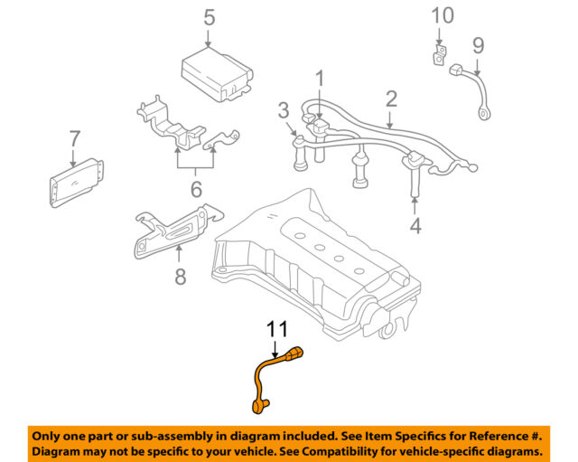 391902y891 crankshaft position sensor oem for kia spectra 2002 2004 rh ebay com 2003 Kia Spectra Repair Diagrams Kia Spectra Parts Diagram