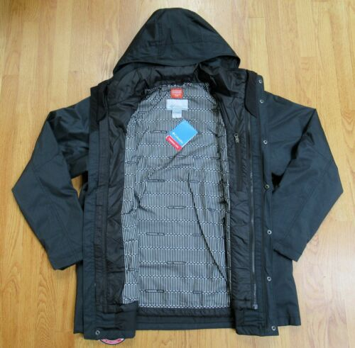 $260 COLUMBIA Mens M-L-XL-XXL EAGLES CALL INTERCHANGE 3 IN 1 INSULATED JACKET