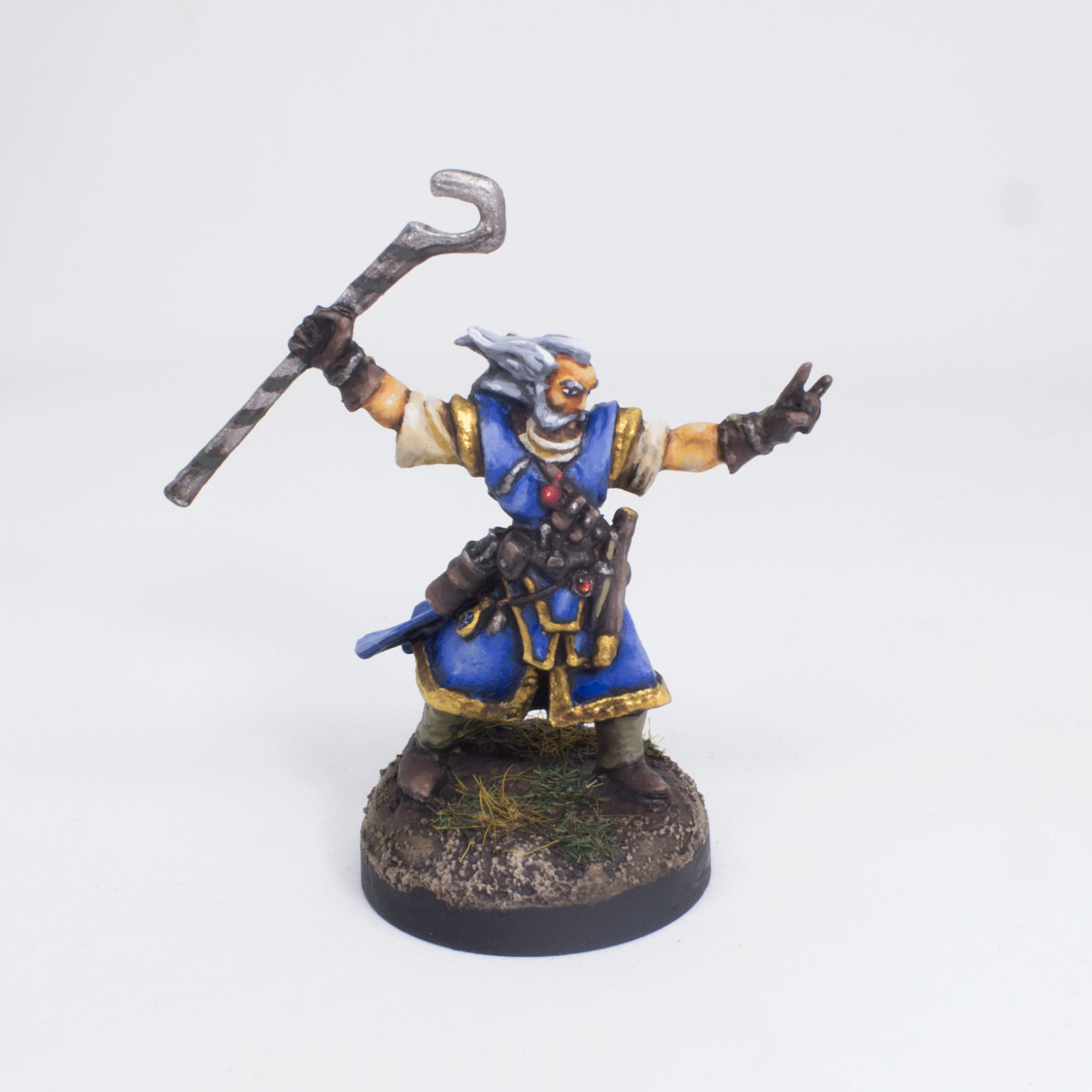 Painted Miniature Ezren Iconic Mage Fantasy Pathfinder rpg DND