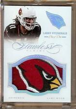 2014 FLAWLESS LARRY FITZGERALD CARDINALS HEAD PATCH 1/1!!  ABSOLUTELY INSANE