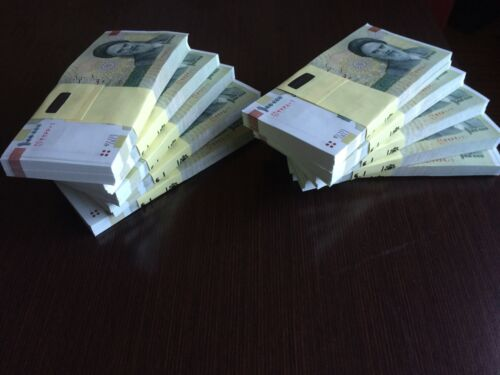 Iran 10 x 100000 (100,000) Rials Banknotes-Uncirculated paper money iran