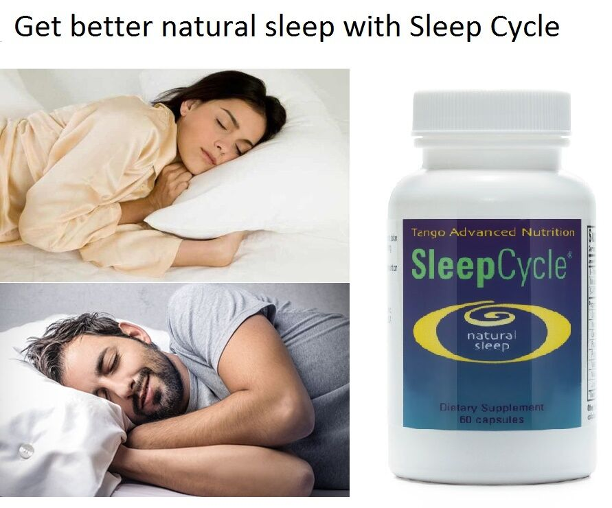 SleepCycle® - Natural Sleep Aid for Relief of Occasional Sleeplessness 60 Caps 1