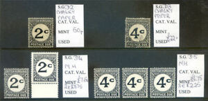 British-Honduras-1956-to-72-run-of-postage-dues-mint-amp-used-2020-02-01-07