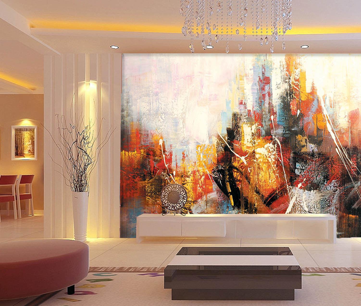 3d Abstract Scribble 908 Wallpaper Mural Wallpaper Wallpaper Picture Family De