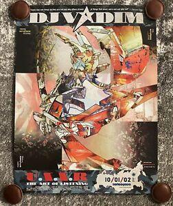 DJ-Vadim-U-S-S-R-The-Art-Of-Listening-Poster-Vintage-New