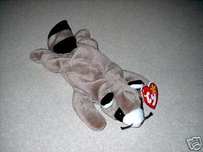 "TY Beanie Baby /""Ringo/"" The Raccoon MWMT 5th Gen Retired"