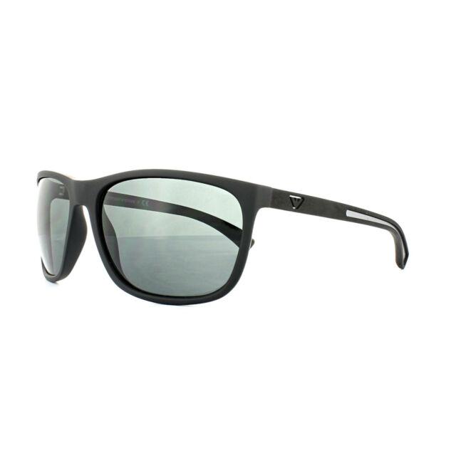 bfb2423d1921 Emporio Armani Sunglasses Ea4078 506387 Black Rubber 62mm for sale ...