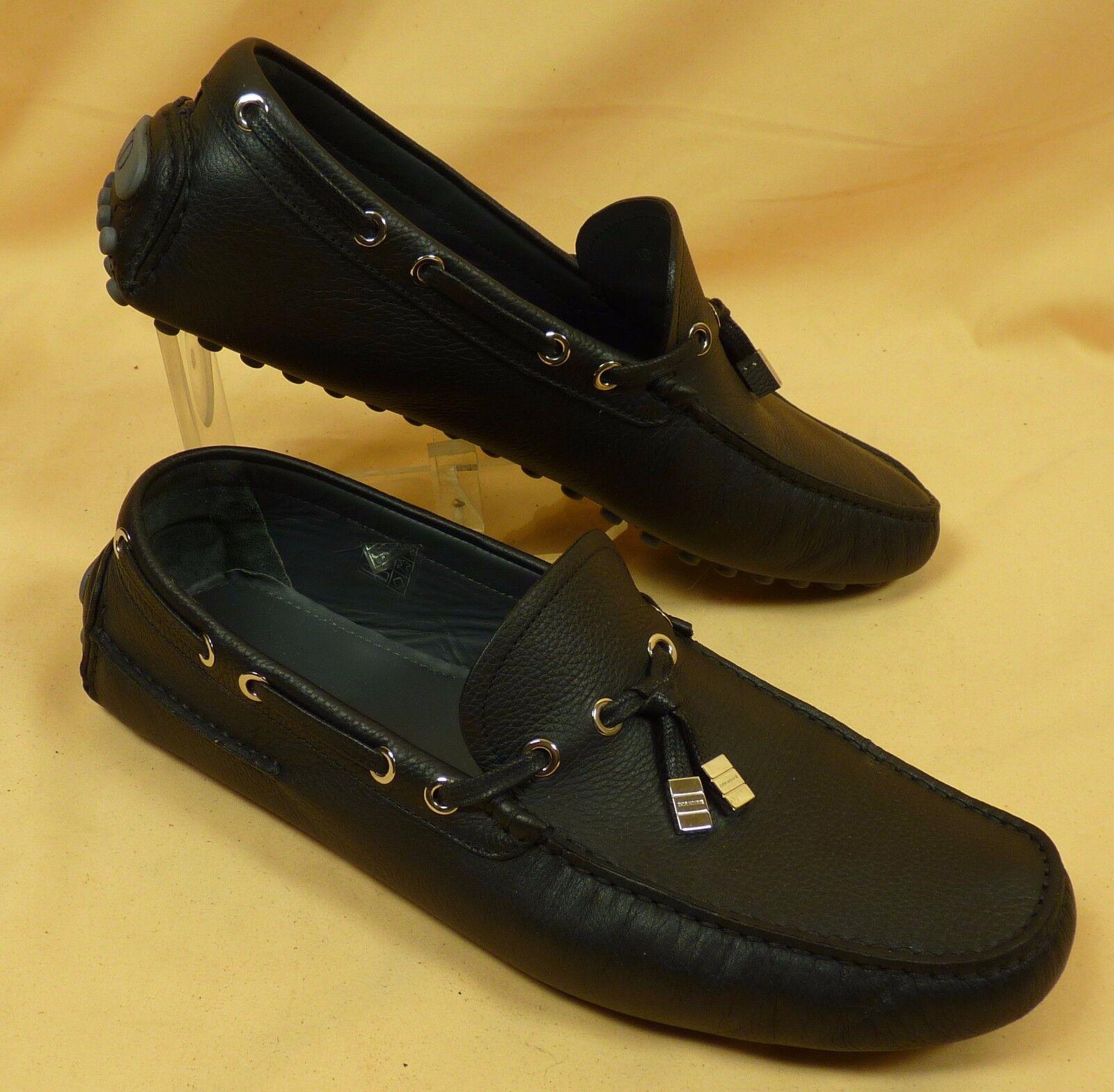 DIOR Herrenschuhe - Loafers - Leder schwarz - Gr. 44  14405