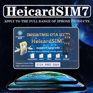 2019 HEICARD Unlock SIM Card Turbo ICCID Nano SIM for iPhone XS X 8