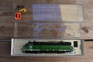 Atlas Burlington Northern SD60M No # N Scale Locomotive 49209 BN