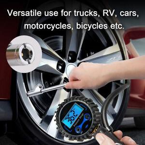 1Pc Air Chuck Tyre Inflator Accurate Pressure Gauge Dual Head Tire Chuck 2-in-1