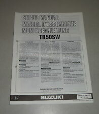 Montageanleitung / Set Up Manual Suzuki TR 50 S Stand 11/1997