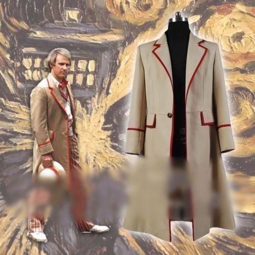 Hot! Doctor Who Twelfth 12th Dr Coat Velvet coat Jacket uniform Cosplay Costume