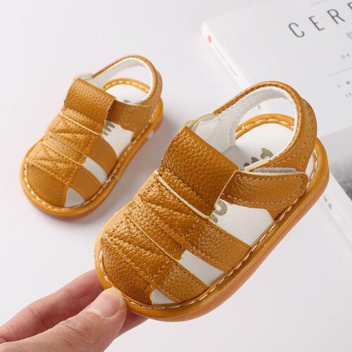 Summer Newborn Sandals Baby Kids Girl/&Boy Letter Shoes First Walker Soft Shoes