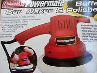 Coleman Powermate Buffer Car Waxer & Polisher, Ul Listed