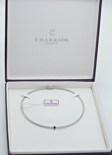 Charriol collar 925 Sterling Silver elemento np.230 € 08231040-0//n232