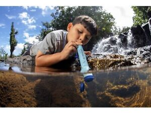 Life straw Personal Water Filter for Hiking, Camping & Emergency -1 Pack