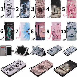 For-Huawei-LG-Moto-Sony-Phones-Strap-Wallet-Card-Holder-Leather-Case-Cover-KT