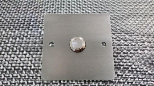 Edelstahl Klingelplatte 3mm stark alle Größen und Formen möglich!