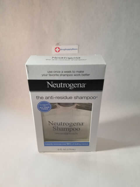 Neutrogena Anti-Residue Deep Cleansing Shampoo (6 fl oz)
