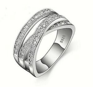 2af733c01 Image is loading GENUINE-STERLING-SILVER-925-ENTWINING-ENTWINED-RUSSIAN- WEDDING-
