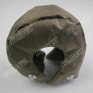 T3-T25-T28-GT25-GT35-Titanium-Turbo-Turbocharger-Heat-Shield-Blanket-Cover-New