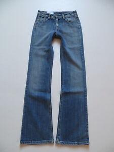 Levi-039-s-Bootcut-Damen-Jeans-Hose-W-26-L-32-NEU-Vintage-washed-Stretch-Denim