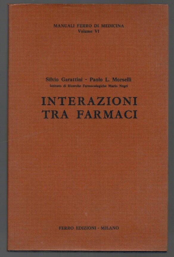 INTERAZIONI TRA FARMACI