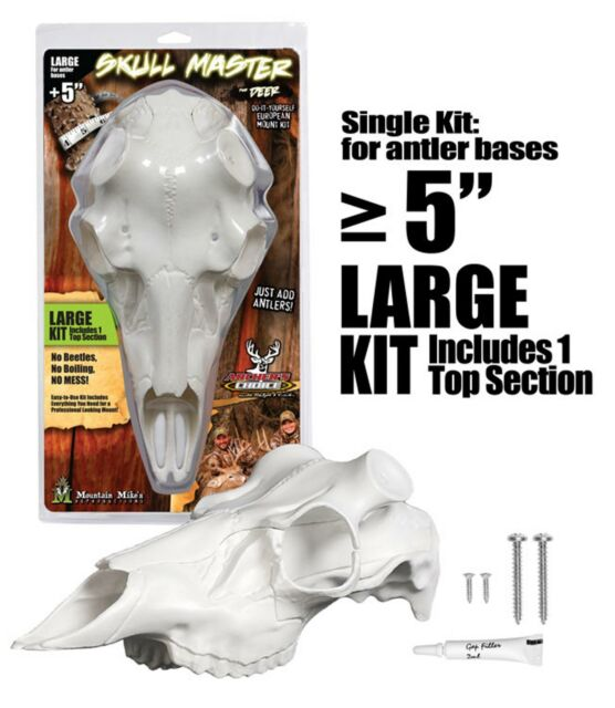 Mountain Mike/'s MMRSML Deer Skull Kit Large for sale online