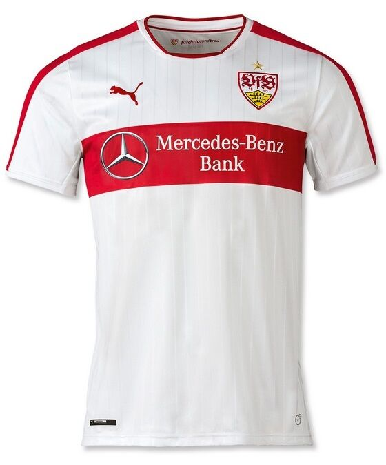 Trikot Puma VfB Stuttgart 2016-2017 Home - Ginczek 33 33 Ginczek 3797d5