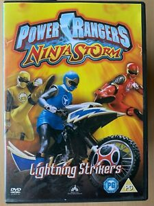 Power-Rangers-Ninja-Storm-DVD-Lightning-Strikers-Cult-Kids-TV-Show