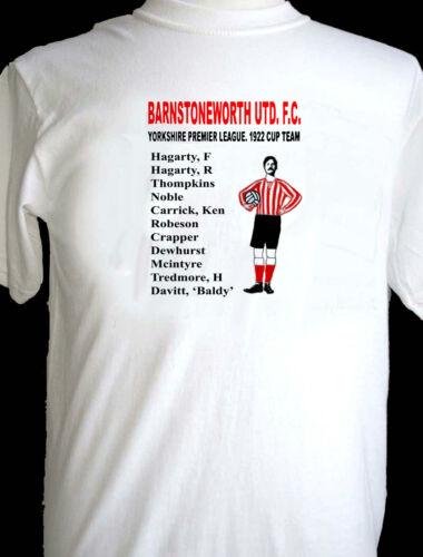 Barnstoneworth United 1922 Yorkshire League Cup Winners t-shirt Ripping Yarns.