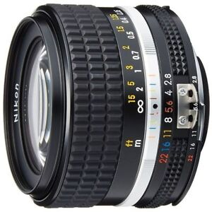 Excellent! Nikon Ai-S FX NIKKOR 28mm f/2.8 - 1 year warranty