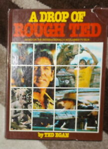 A-Drop-of-Rough-Red-Ted-Egan-Signed-by-Author-Australian-TV-Movie-Film-Book
