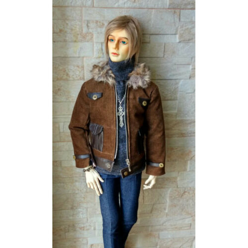 Strong Uncle Brown Jacket Coat Outfit  For Men BJD Strong 70cm dollfie GW