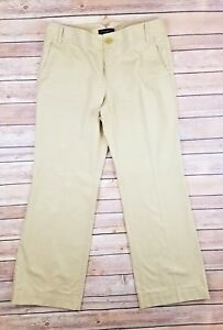 Banana-Republic-Women-039-s-Martin-Fit-Khakis-Chino-Pants-Size-8-Short