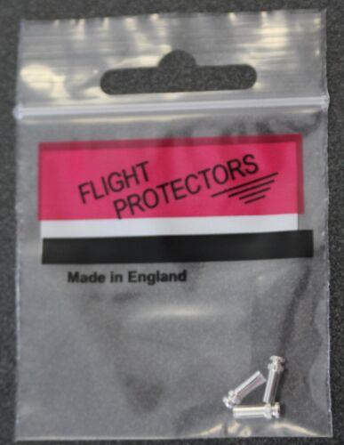White Three sets of Nylon Dart Stems Flight Protectors Nylon Medium