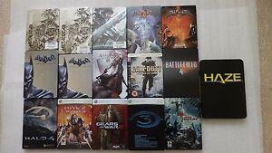 PS3-y-Xbox-360-STEELBOOK-solamente-Batman-Halo-Dead-Island-Tomb-Raider-sin-Juegos