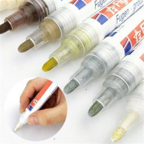 Tile Grout Coating Marker Home Wall Floor Ceramic Tiles Gaps Repair Pen