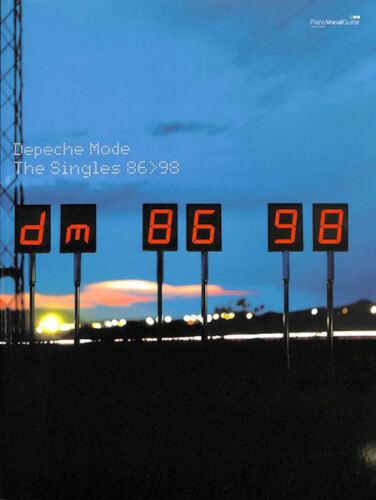 The Singles 86-98 Songbook Klavier//Gesang//Gitarre Depeche Mode