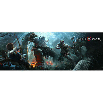GOD OF WAR 4 New Game Silk Poster 12x32 20x54 inch Kratos